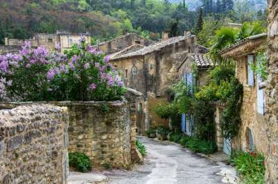 Oppede le vieux provence sud de la france