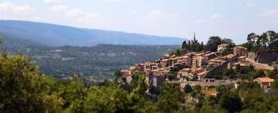 Village de Bonnieux en Provence