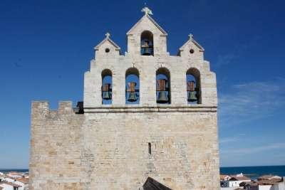 Saintes Maries de la mer Clocher sud de la france itineraire tourisitque