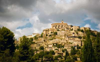 Village de Gordes pittoresque provence sud de la france